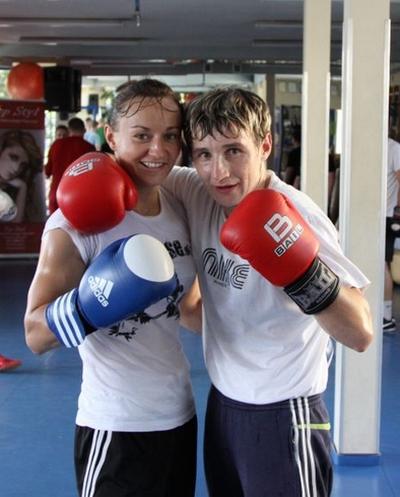 Mistrzostwa Świata w New Delhi Sandra Drabik z selekcjonerką Karolina Michalczuk