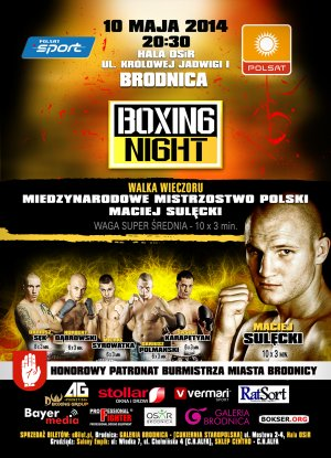 BRODNICA BOXING NIGHT