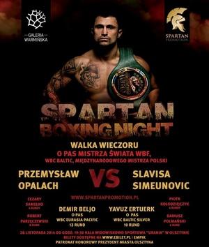 Spartan Boxing Night